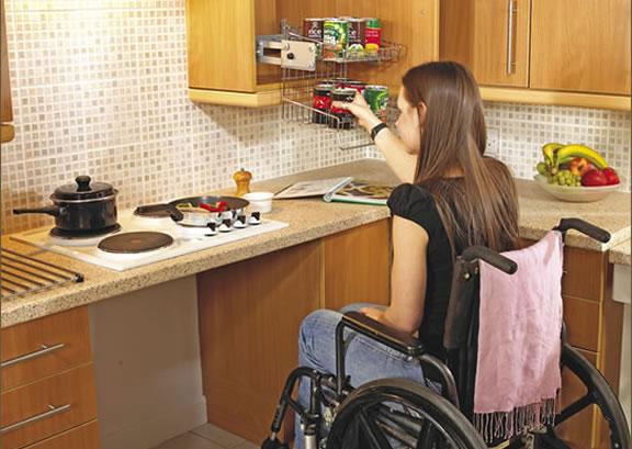 kitchen for handicap